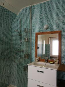 La Chambre d'hôte - Douche à l'italienne et lavabo
