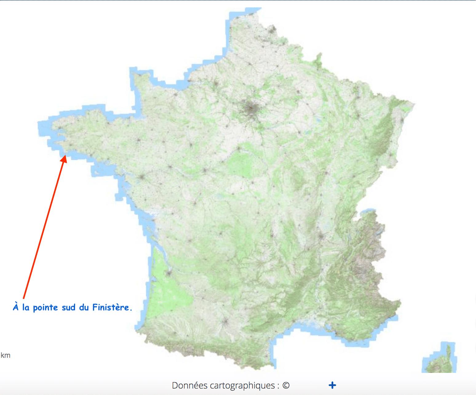 Treffiagat-Léchiagat à la pointe sud du Finistère en Pays bigouden